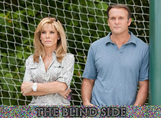 sandra bullock s the blind side trailer poster and tv spot  the blind side sandra bullock