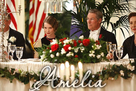 Amelia, Dorothy Binney and Richard Gere