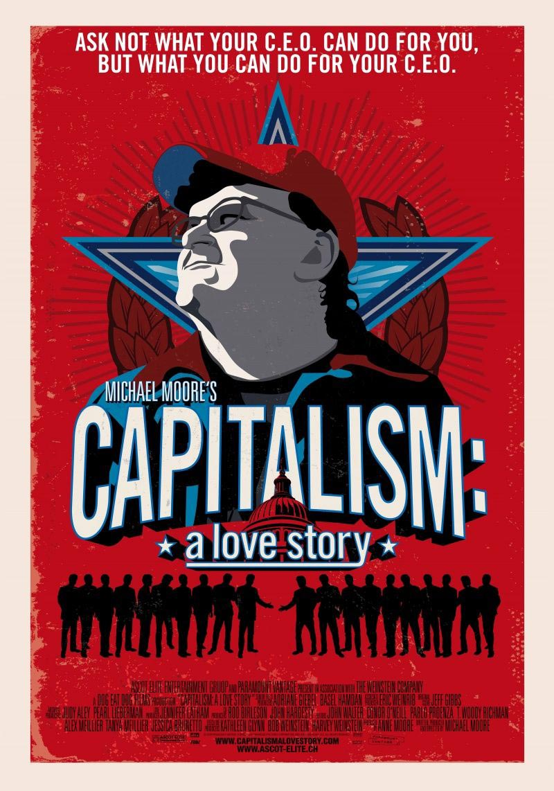 "capitalism a love story film analysis essay Movie review: capitalism: a love story ""capitalism, a system of giving and taking mostly taking,"" the highlight of michael moore's documentary, ""capitalism: a love story'."
