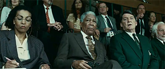 Morgan Freeman as Nelson Mandela, Invictus