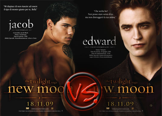 New Moon Edward VS. Jacob