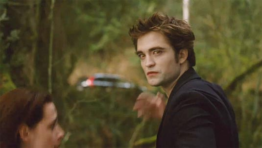 Robert Pattinson as Edward Cullen, New Moon