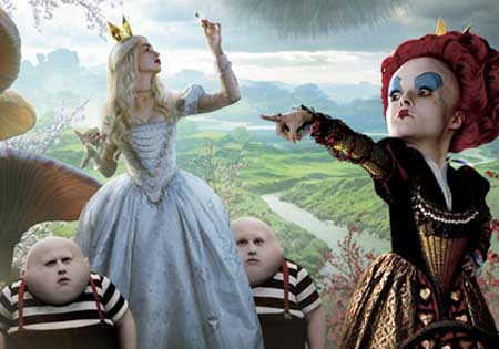 "Walt Disney Pictures has released a new poster for ""Alice in Wonderland"""
