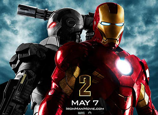 Iron Man 2, Iron Man and War Machine