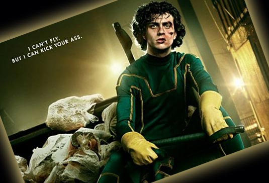 Aaron Johnson as Dave Lizewski/Kick-Ass