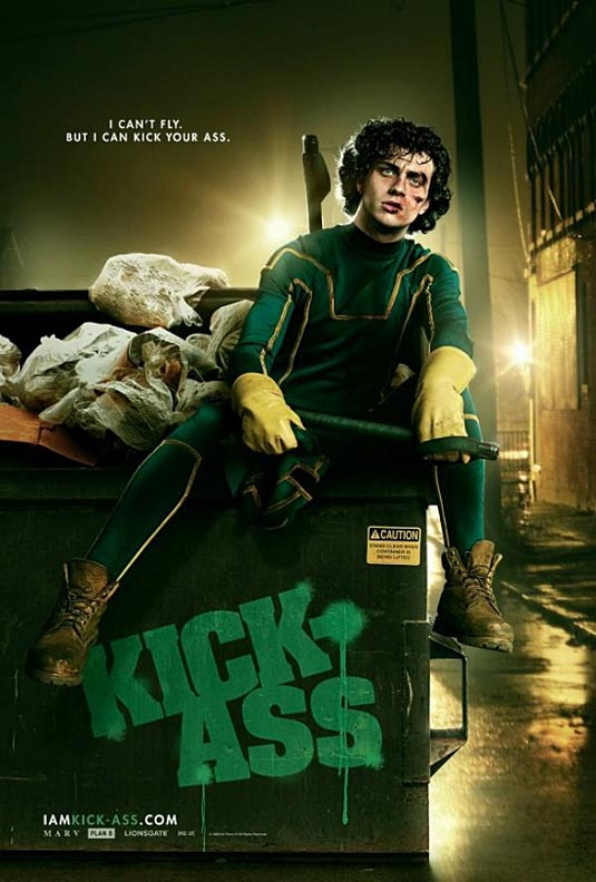 Kick-Ass Poster, Aaron Johnson as Dave Lizewski/Kick-Ass