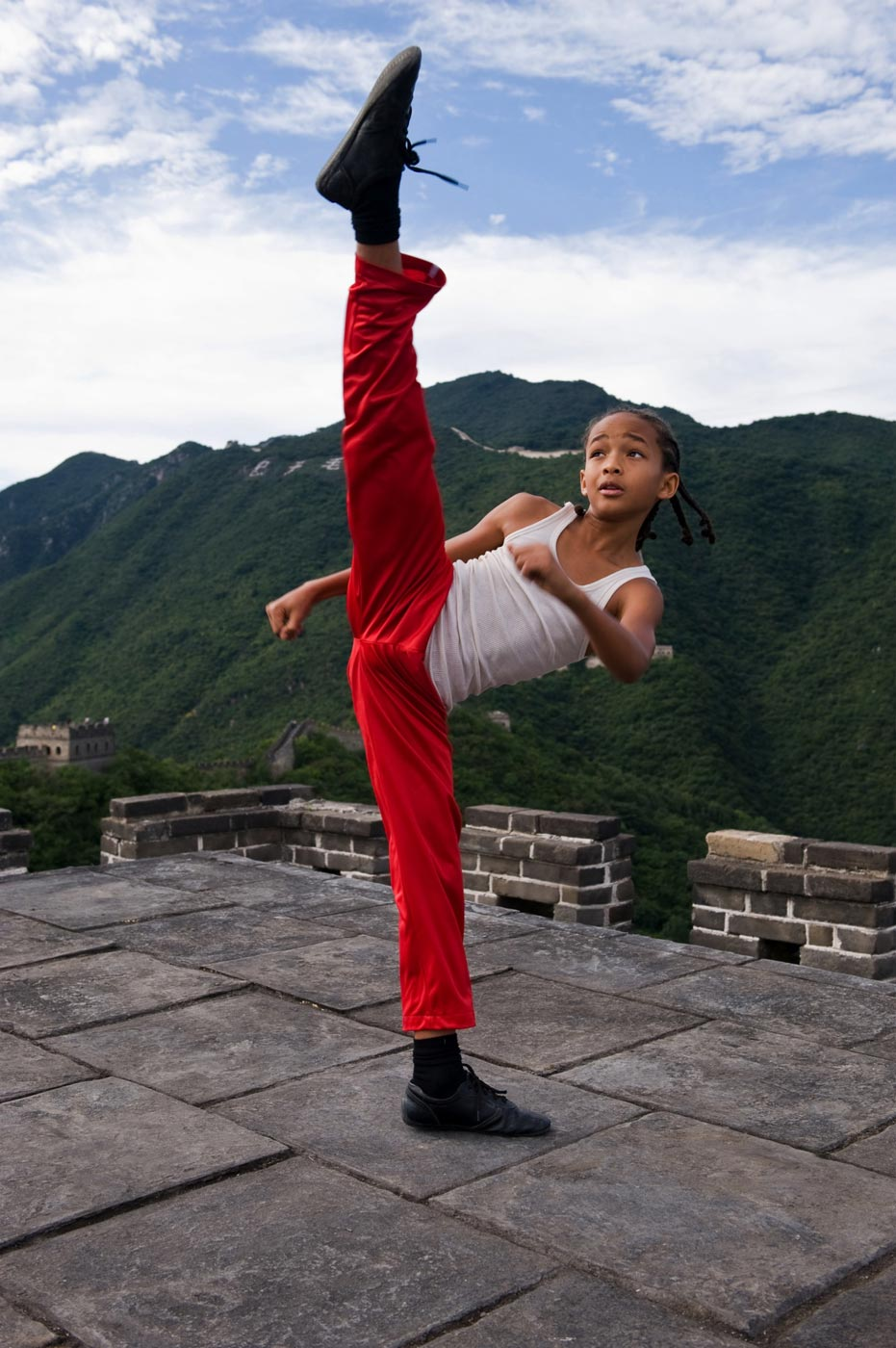 "First Official ""The Karate Kid"" Photos: Jaden Smith & Jackie Chan"