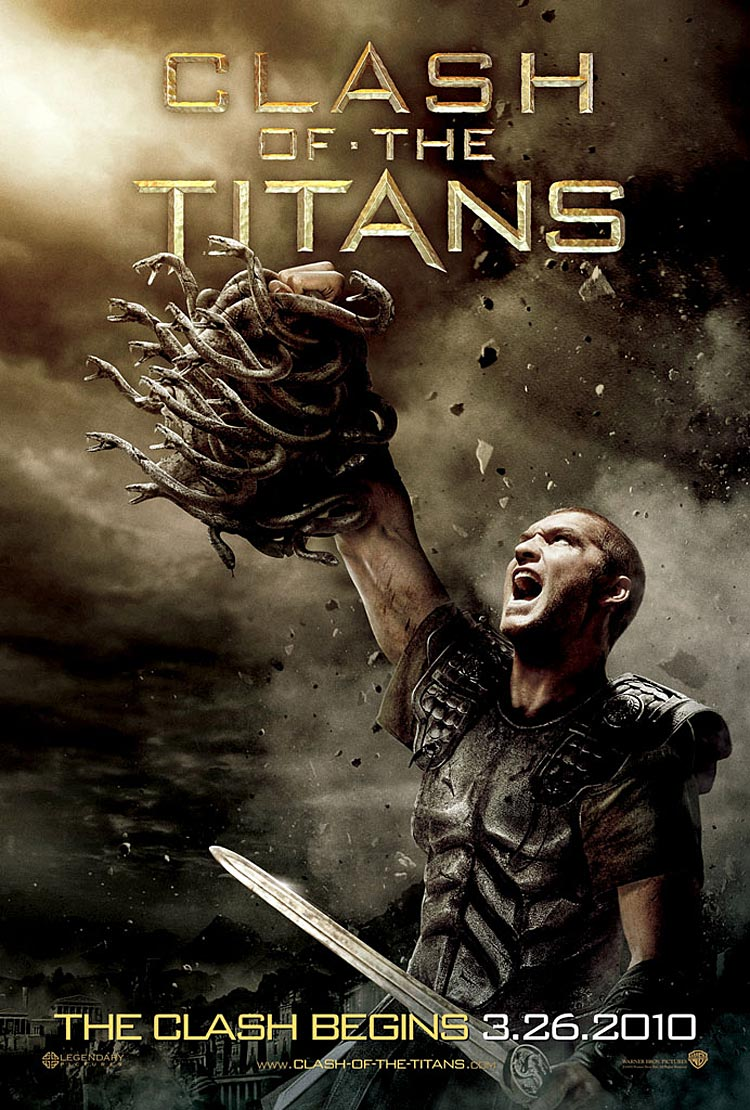Clash of the Titans Poster, Sam Worthington as Perseus