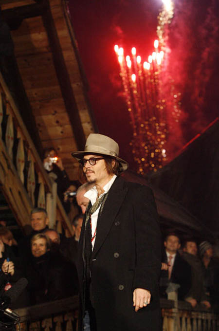 Johnny Depp at Kustendorf