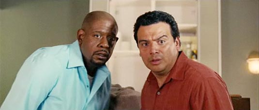 Our Family Wedding, Forest Whitaker and Carlos Mencia