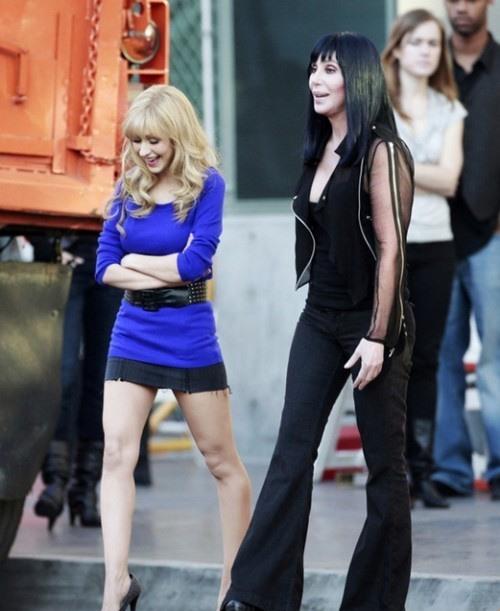 Burlesque, Christina Aguilera and Cher