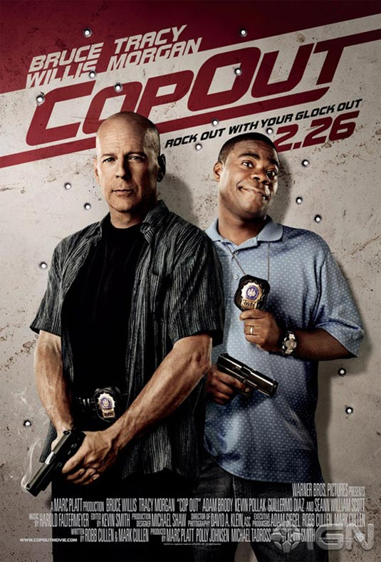 Cop Out Poster, Bruce Willis and Tracy Morgan