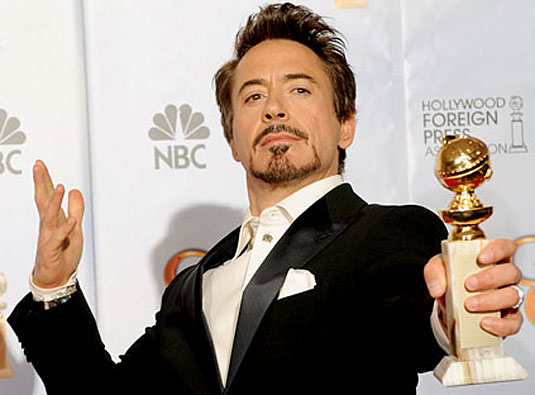 Golden Globe 2010, Robert Downey Jr.
