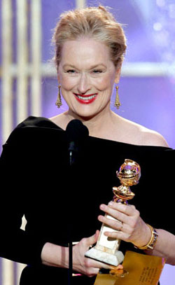 Meryl Streep, Golden Globe 2010