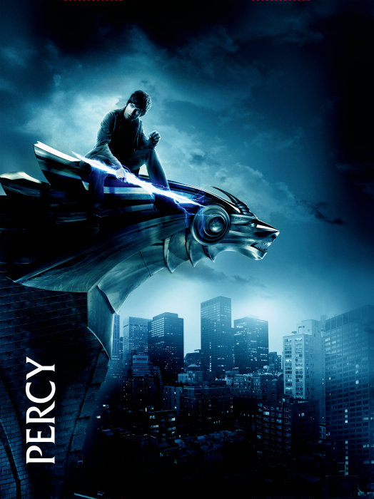 Percy Jackson and The Olympians: The Lightening Thief Poster, Percy Jackson (Logan Lerman)