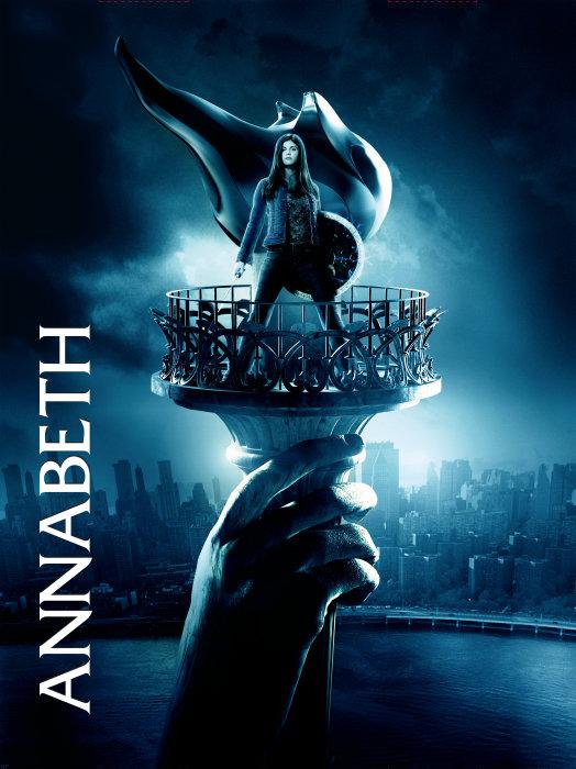 Percy Jackson and The Olympians: The Lightening Thief Poster, Annabeth (Alexandra Daddario)