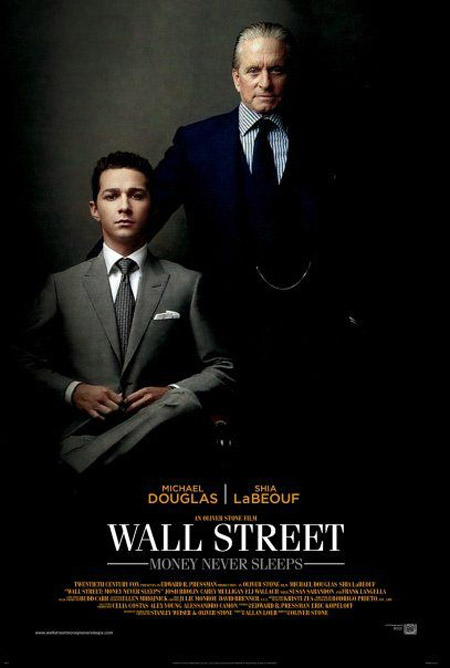 Wall Street 2: Money Never Sleeps Poster