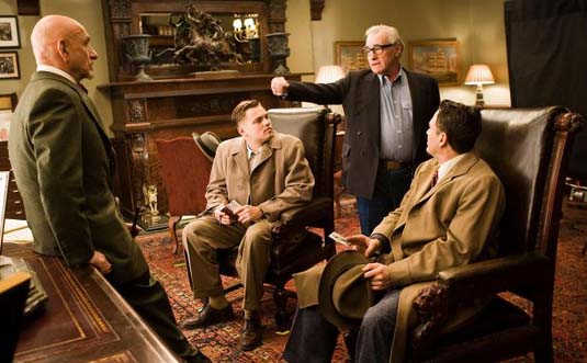 Ben Kingsley, Leonardo DiCaprio, Martin Scorsese and Mark Ruffalo - Shutter Island