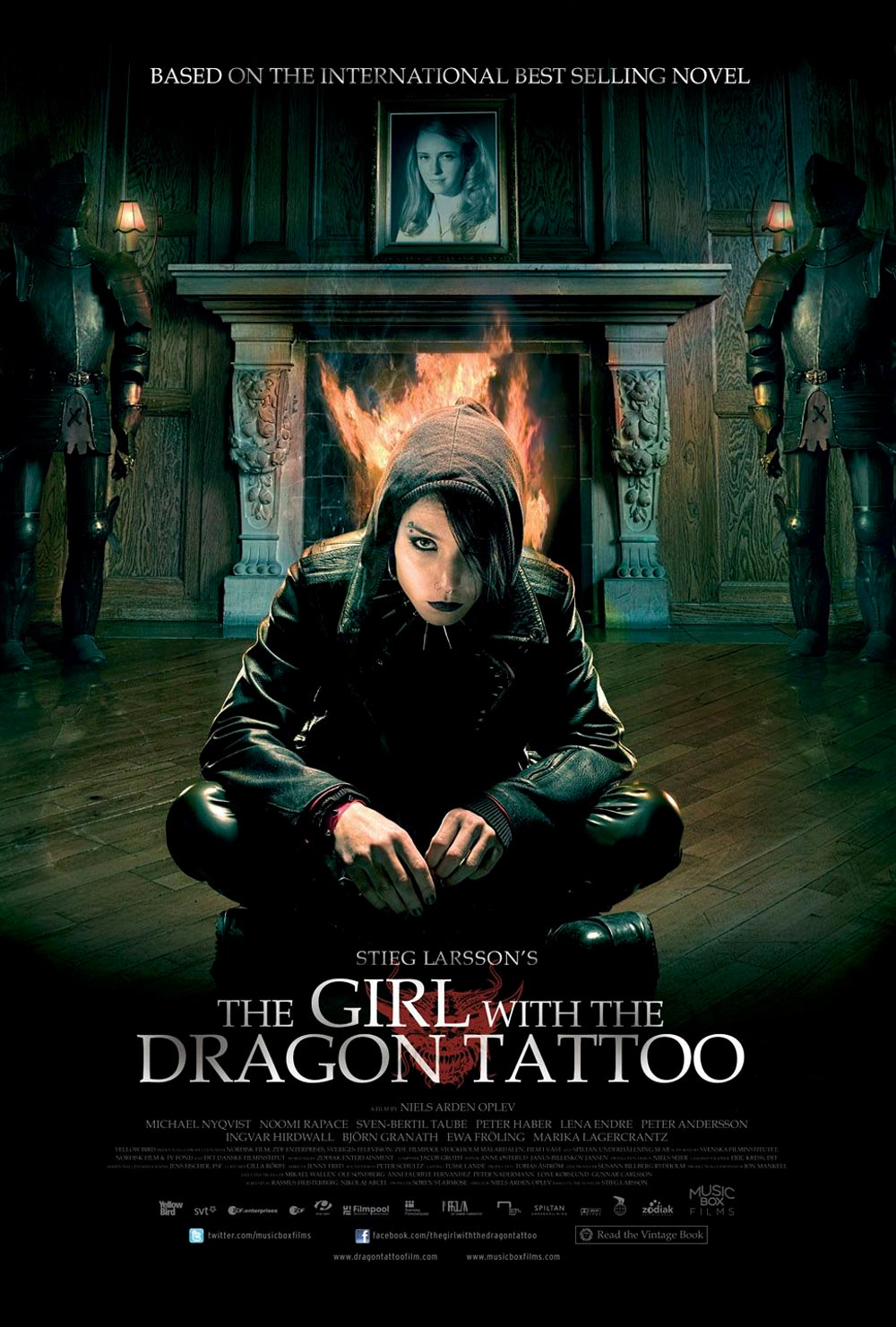 The girl with the dragon tattoo posters filmofilia for The girl with the dragon tattoo story
