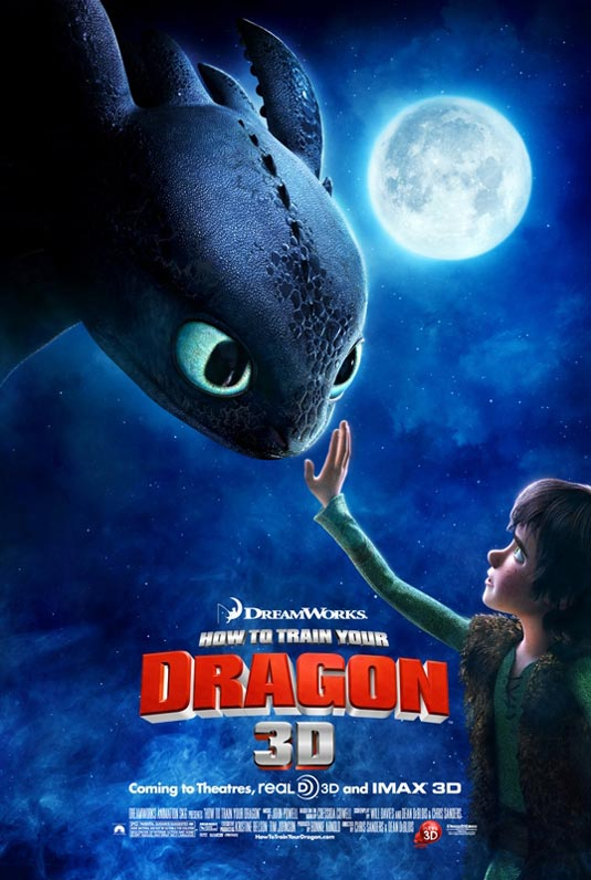 How to Train Your Dragon Poster. How to Train Your Dragon hits theaters on