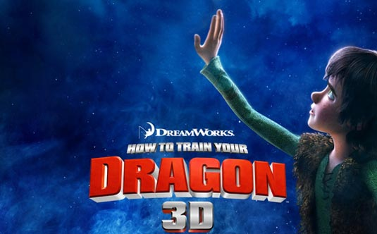 How to Train Your Dragon Poster and Featurette