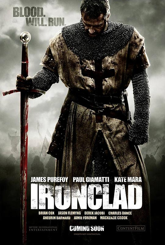 Ironclad Poster,  James Purefoy