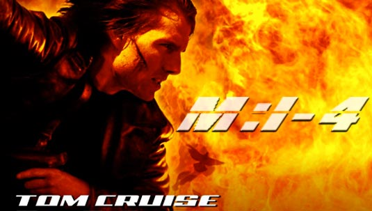 tom cruise mission impossible 3. Mission Impossible 4. Tom