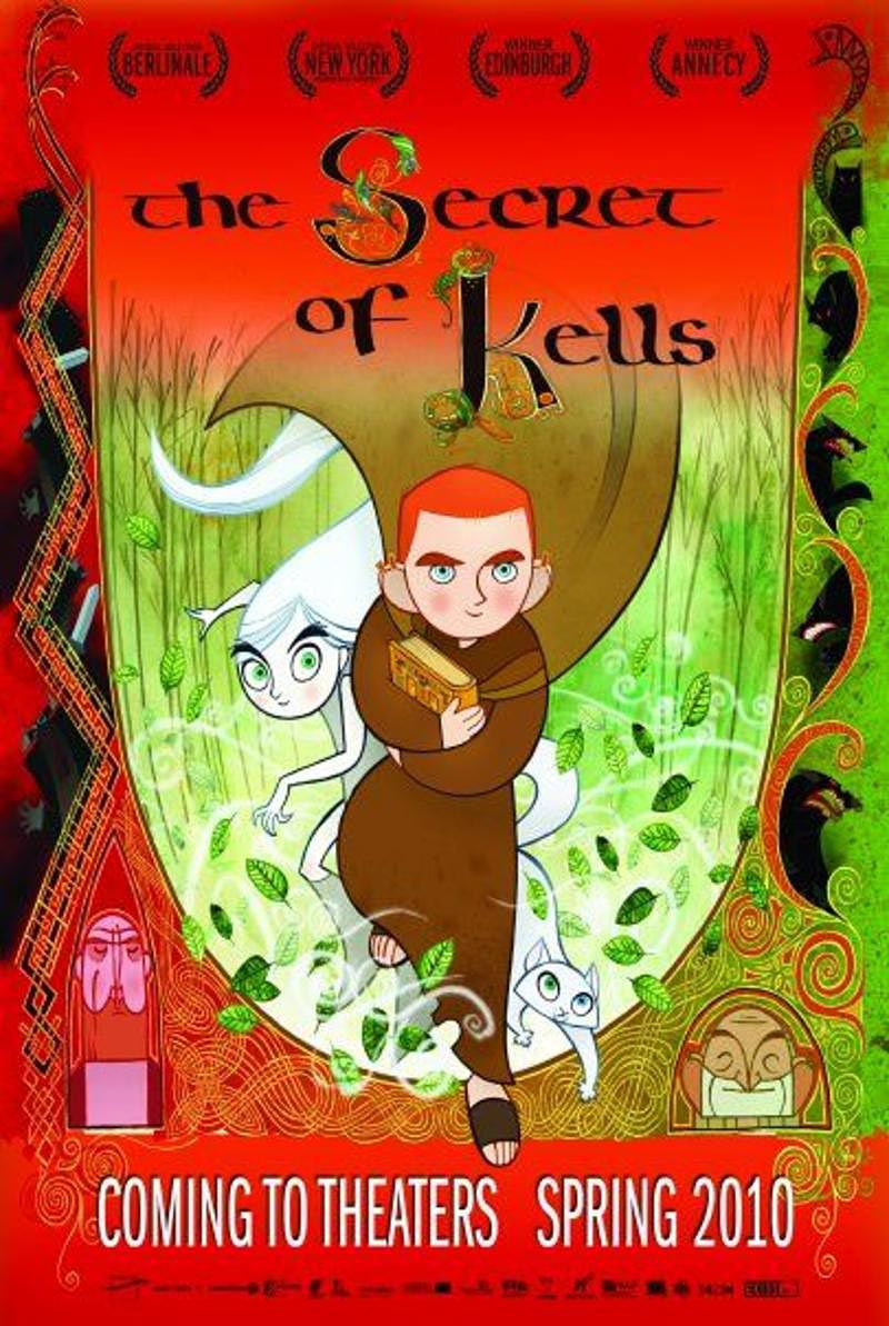 The Secret of Kells: Oscar 2010 Surprise! Trailers, Poster and