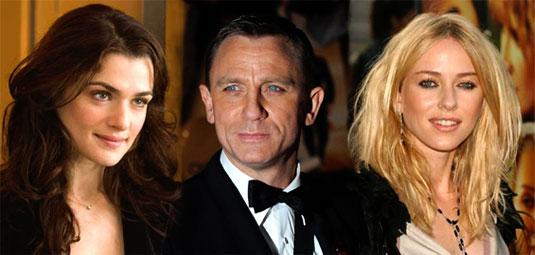 Rachel Weisz, Daniel Craig, Naomi Watts