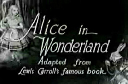Alice In Wonderland from 1915
