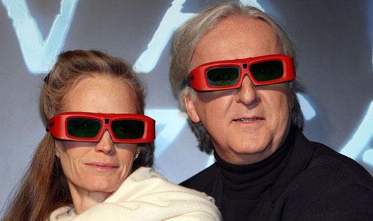 James Cameron 3D glasses