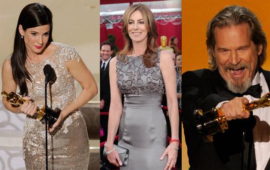 Sandra Bullock, Kathryn Bigelow, Jeff Bridges