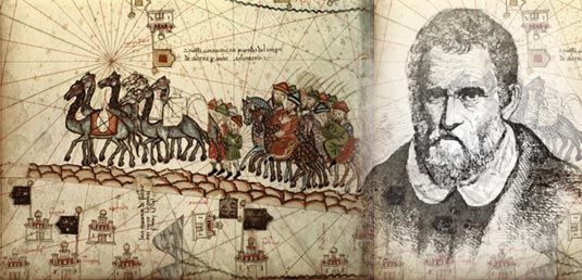"a biography and life work of marco polo a venetian explorer and trader Thus arose, in french, in a french perhaps not very grammatically correct and in which the italian terms abound, a work to which it is known with multiple titles: the description of the world , the book of marco polo , the book of the wonders , the trips of marco polo, dubbed the milione the book ended in ""the year of grace of 1298"", but the life."