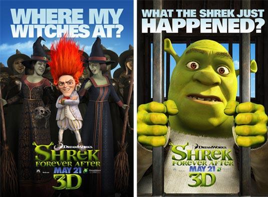 Shrek 4 Posters