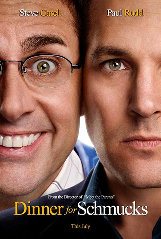 dinner for schmucks teaser poster Dinner for Schmucks = A+