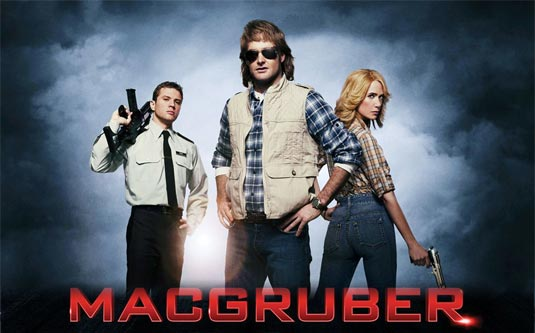 MacGruber Poster and Restricted Trailer - FilmoFilia