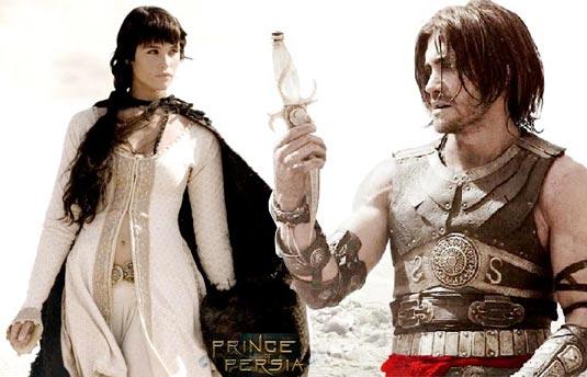 Prince of Persia photo, Gemma Arterton (Tamina), Jake Gyllenhaal (Prince Dastan)