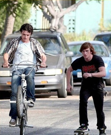 The Kids Are All Right, Josh Hutcherson (Laser) and Eddie Hassell (Clay)