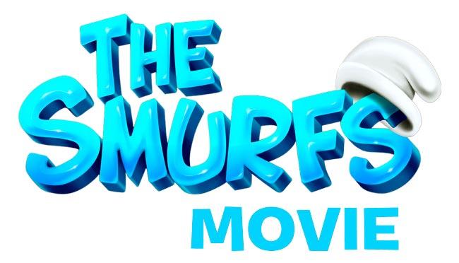 The Smurfs Movie Logo