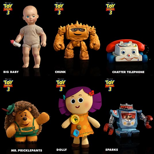 R Lee Ermey Family Seven Toy Story 3 Char...