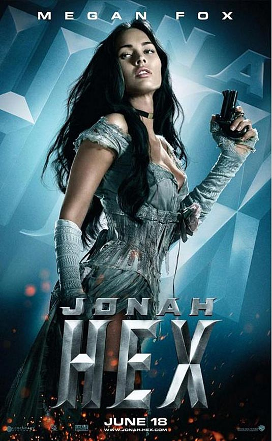 Jonah Hex Poster,  Megan Fox