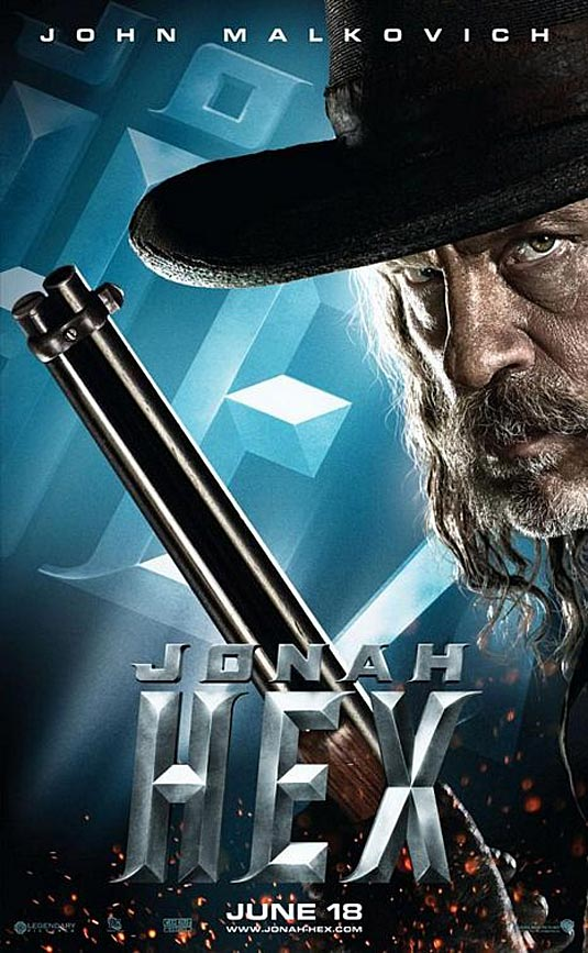 Jonah Hex Poster, John Malkovich
