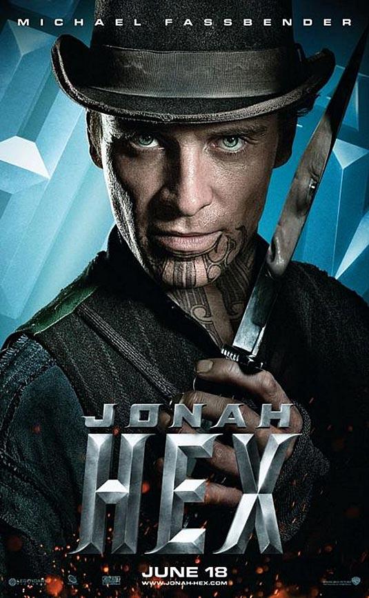 Jonah Hex Poster, Michael Fassbender