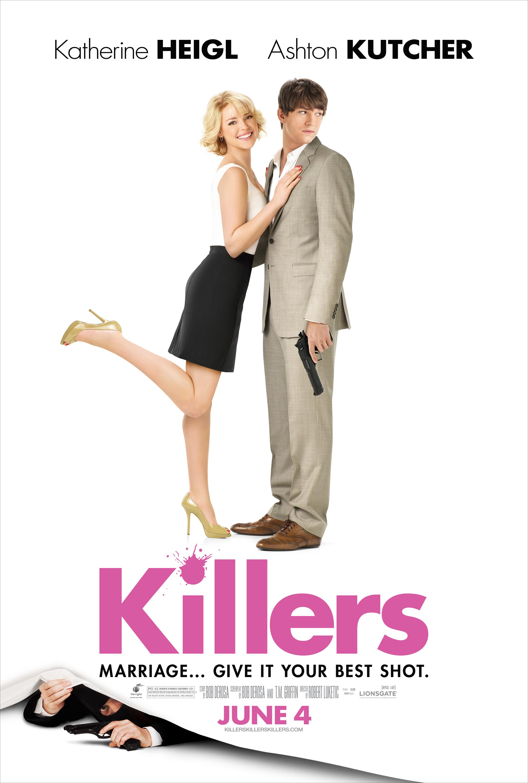 Killers Poster with Ashton Kutcher and Katherine Heigl  FilmoFilia