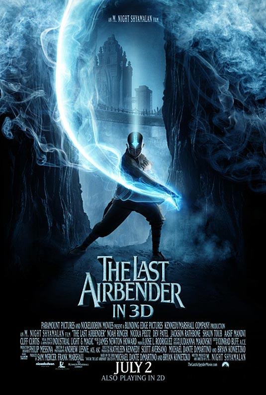 The Last Airbender Poster, Aang (Noah Ringer)