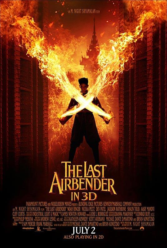 The Last Airbender Poster | Zuko (Dev Patel)