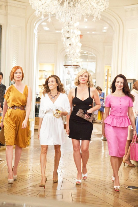Cynthia Nixon, Sarah Jessica Parker, Kim Cattrall and Kristin Davis in Sex and the City 2