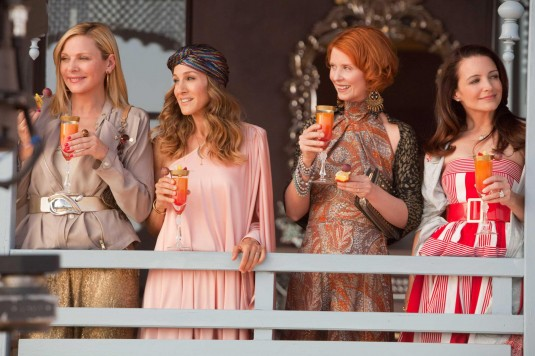 Cynthia Nixon, Sarah Jessica Parker, Kim Cattrall and Kristin Davis in Sex and the City 2