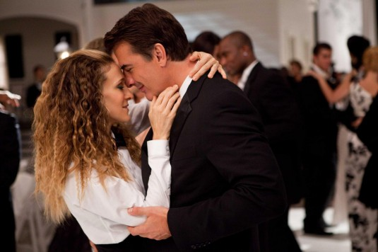 Sarah Jessica Parker stars as Carrie Bradshaw and Chris Noth stars as Mr. Big in Sex and the City 2