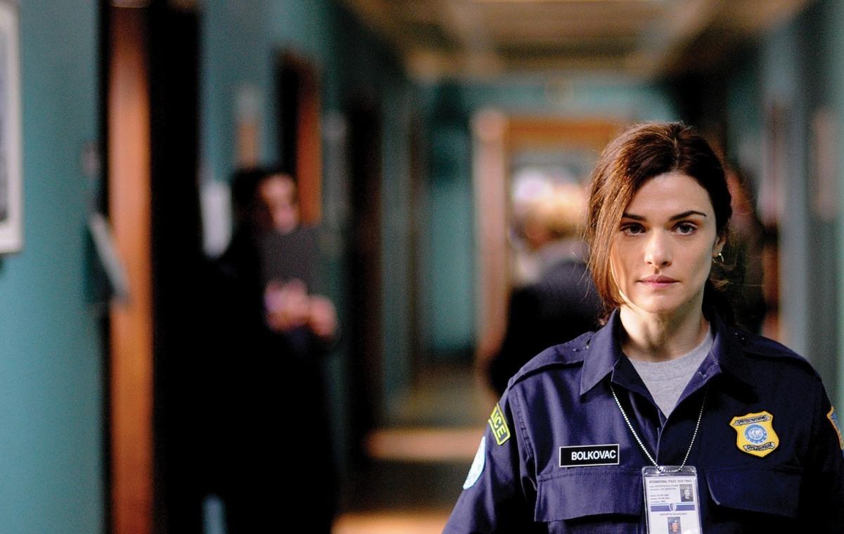 Rachel Weisz stars as Kathryn Bolkovac in The Whistleblower